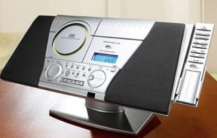elta design stereo music center mit cd player und ppl tuner neu ebay. Black Bedroom Furniture Sets. Home Design Ideas