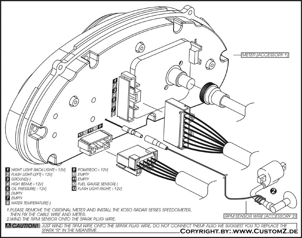 Schaltplan Peugeot Speedfight 2